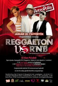Reggaeton pary plakát