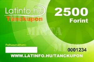 Latinfo.hu tánckupon